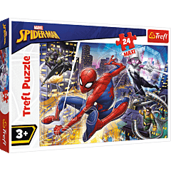 Nieustraszony Spider-Man - puzzle 24 maxi od Trefl