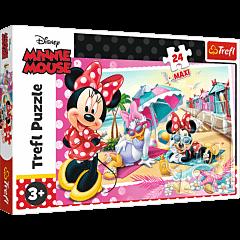 Wakacje Minnie - puzzle 24 maxi od Trefl