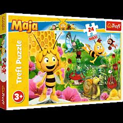 W świecie Pszczółki Mai - puzzle 24 maxi od Trefl