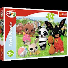 Zabawa w parku, Bing - puzzle 24 maxi od Trefl