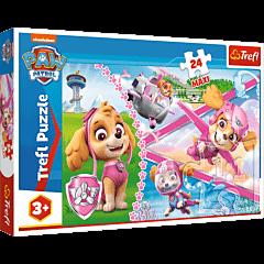 Bohaterska Skye, Psi Patrol - puzzle 24 maxi od Trefl