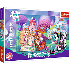 Wesoły świat Enchantimals - puzzle 24 maxi od Trefl