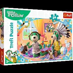 Bawmy się razem! Rodzina Treflików - puzzle 24 maxi od Trefl