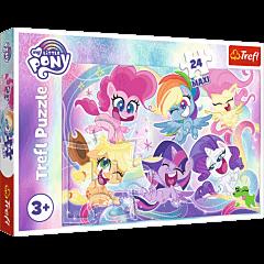 Przyjaźń Kucyków Pony Puzzle 24 MAXI Trefl zdjęcie 1