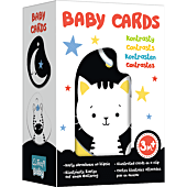Baby Cards - Contrasts, multilanguage