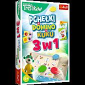 Trefliki 3w1 Domino Pchełki Kuku