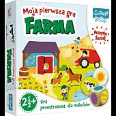 GRA Farma Moja pierwsza gra / Trefl Baby