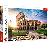 Sun-drenched Colosseum