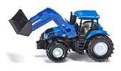 Siku 13 - Traktor New Holland z przednią ładowarką