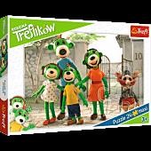 Rodzina Treflików - Puzzle Maxi