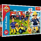 Brave Fireman Sam