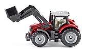 Siku 14 - Traktor Massey Ferguson z przednią ładowarką