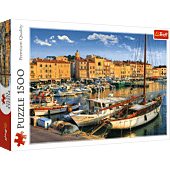 Stary Port w Saint Tropez