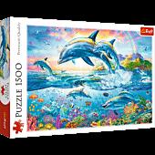 Rodzina delfinów