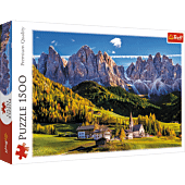 Val di Funes valley, Dolomites, Italy
