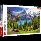 Lake Oeschinen, Alps, Switzerland