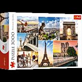 Magic of Paris - collage