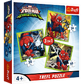 Spider-Man's world - 3-in-1 Puzzles
