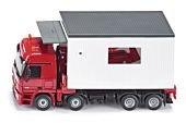 Siku Super - Transporter z boksem garażowym
