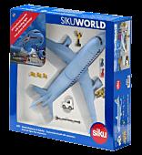 Samolot pasażerski z akcesoriami Siku World