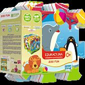 Edukacyjna Układanka Puzzlopianka Zoo Fun 5 w 1