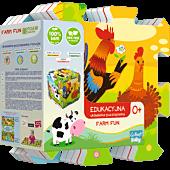 Edukacyjna Układanka Puzzlopianka Farma Fun 5 w 1
