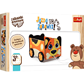 Wooden toy - Ride for toys!