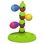 Stacking tree + 6 pcs beads
