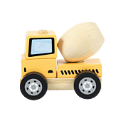 Wooden concrete mixer