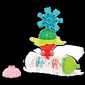 Rattle rain-stick and educational beads