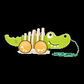 Walk-A-Long Croc