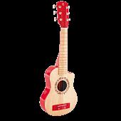 Gitara Czerwony Płomień