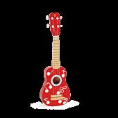 Czerwone ukulele