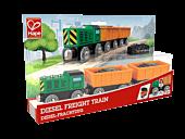 Pociąg towarowy z silnikiem