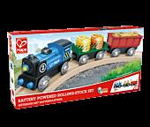 Pociąg z lokomotywą na baterie