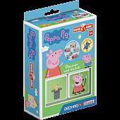 Magicube Peppa Pig - Odkrywaj i łącz - klocki magnetyczne 2 el.