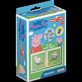 MagiCube Peppa Pig - Dzień z Peppą - klocki magnetyczne 2 el.