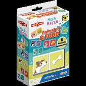 Magicube Mix & Match Pokarm zwierząt - klocki magnetyczne 2 el.