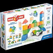 Magicube 4 Shapes Recycled Świat - klocki magnetyczne 32 el.