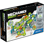 Mechanics Gravity RE Loops & Turns 130 - klocki magnetyczne