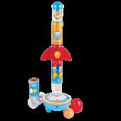 Układanka rakieta z piłeczkami