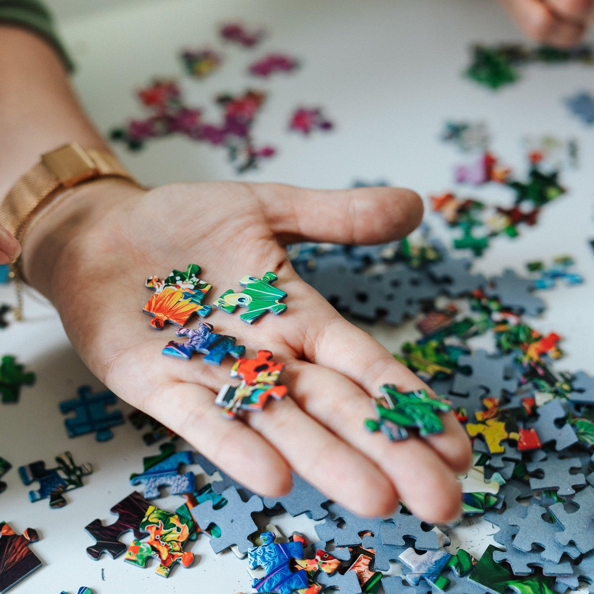 Puzzle dla zaawansowanych - Zabawa na wiele godzin