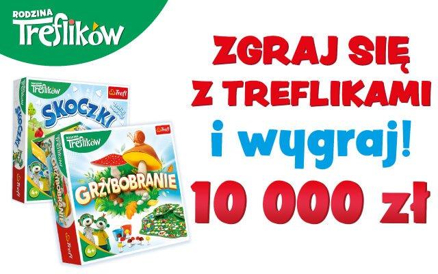 """Konkurs """"Zgraj się z Treflikami"""" - wygraj 10 000 zł"""