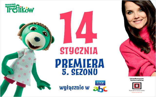 """Premiera 5. sezonu """"Rodziny Treflików"""""""
